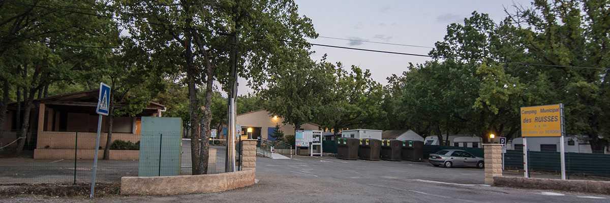 Camping municipal les ruisses les salles sur verdon for Camping camp municipal au jardin