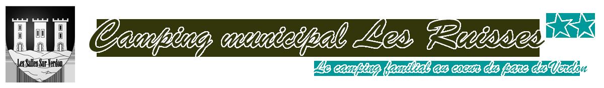 Camping municipal Les Ruisses - Les Salles sur Verdon