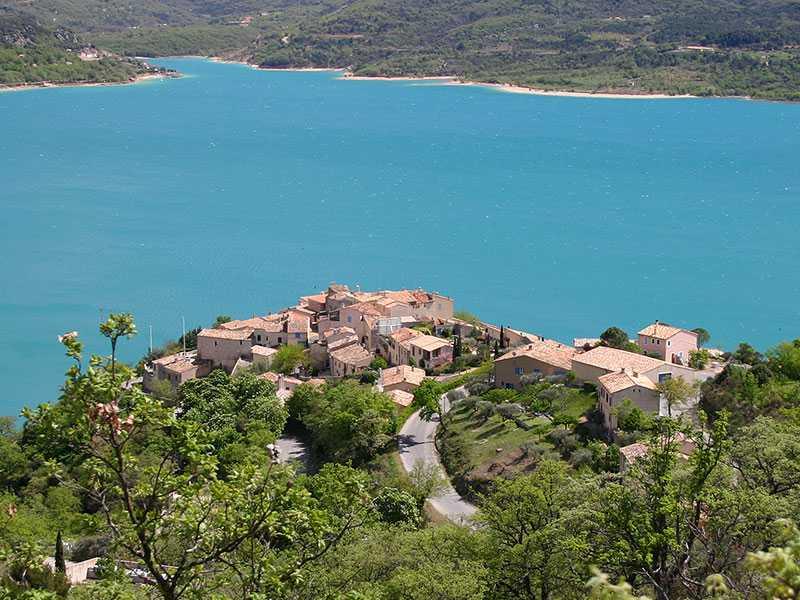 Villages autour du lac camping municipal les ruisses - Sainte croix du verdon office du tourisme ...